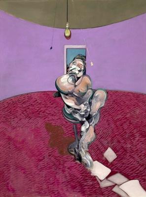 Francis Bacon. Portrait of George Dyer talking