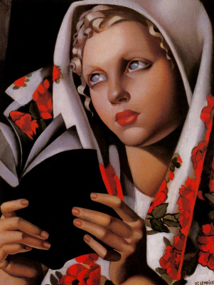 Tamara Lempicka. The Polish Girl