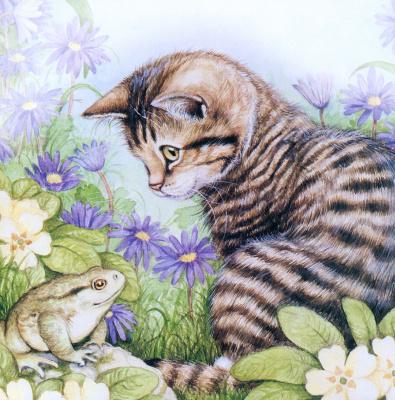 Дебби Кук. Полосатый кот