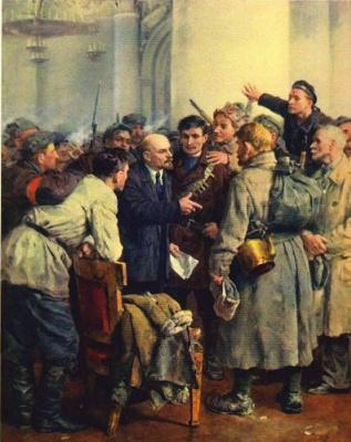 Владимир Александрович Серов. В Смольном