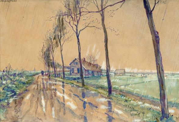Ян Слёйтерс. Сельская дорога