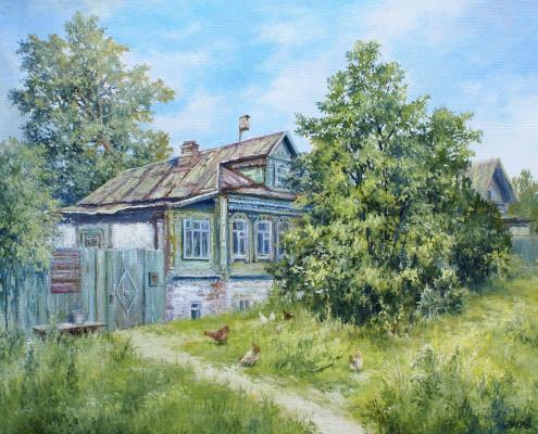 Сергей Владимирович Дорофеев. Summer in the village