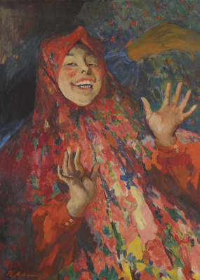 Philip Andreevich Malyavin. Laughing girl