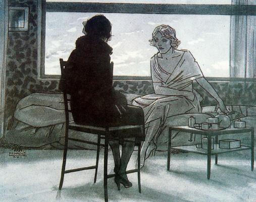 Рафаэль де Пенагос. Женские разговоры
