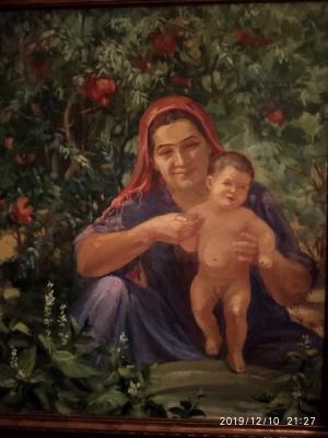 Zakir Inogomov (Inogamov). Happy mom