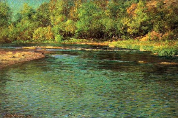 Джон Оттис Адамс. Мелкая река
