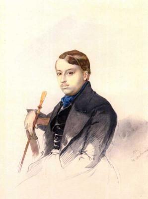 Taras Grigorievich Shevchenko. Portrait Of Alexander A. Katerynych