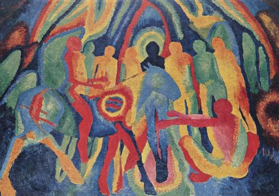 Вильгельм Моргнер. Вход Господень в Иерусалим