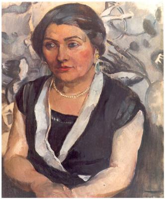 Пер Даура. Портрет женщины