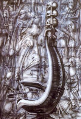 Ганс Рудольф Гигер. Дизайн кресла