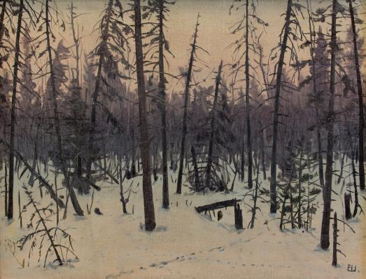 Eugene Alexandrovich Shepelevich. Evening