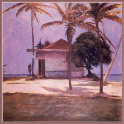 Жан-Даниэль Бувар. Остров