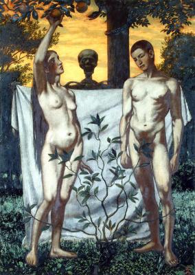 Ганс Тома. Адам и Ева