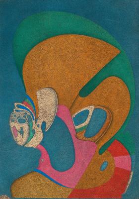Michael Shemyakin. Metaphysical bust.1978 mixed media