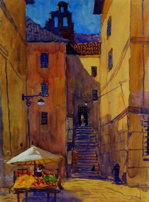 Alexander Mikhailovich Gerasimov. The Old Rome. 1934