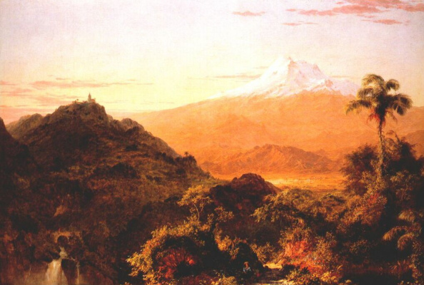 Frederick Edwin Church. South American landscape