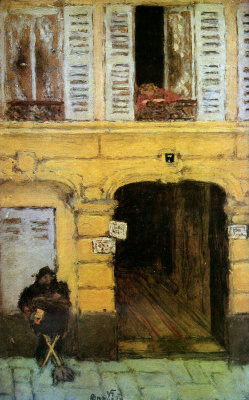 Pierre Bonnard. The organ grinder