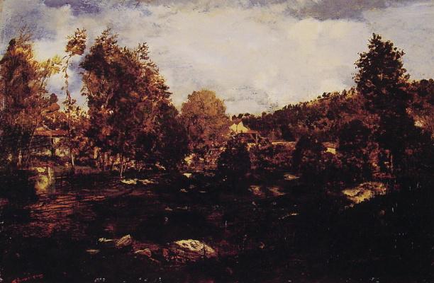 Theodore Rousseau. Swamp