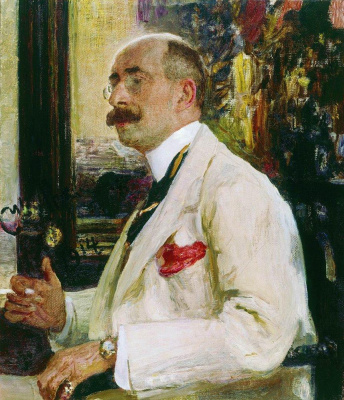 Ilya Efimovich Repin. Portrait Of N. D. Ermakova