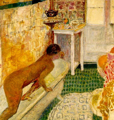 Pierre Bonnard. Exit from the bath