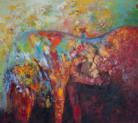 Andrey Karablin. Horse