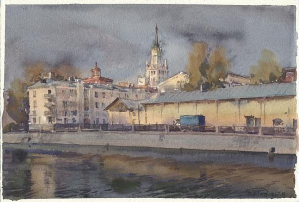 Anton Batov. Sadovnicheskaya embankment