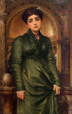 Frederic Leighton. After vespers