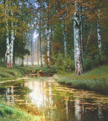 Victor Mikhailovich Ershov. Childhood river