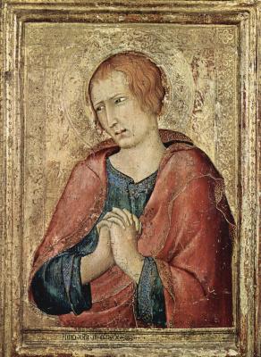 Симоне Мартини. Евангелист Иоанн