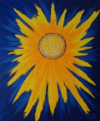Larissa Lukaneva. Greeting To The Sun