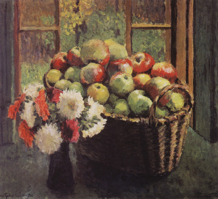 Igor Grabar. Apples and asters
