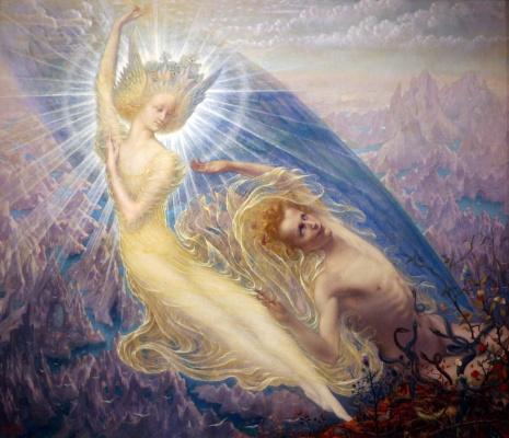 Jean Delville. The Angel of Splendors