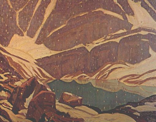 Джеймс Эдуард Херви Макдональд. Снегопад в горах