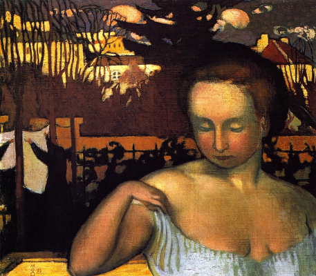 Maurice Denis. Portrait of Marthe Denis, the Artist's Wife
