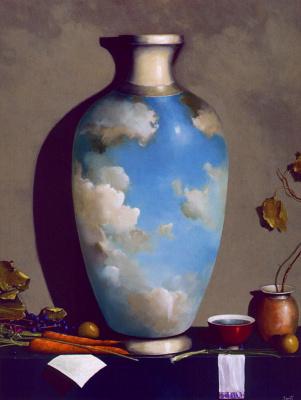 Джефф Фауст. Композиция с вазой