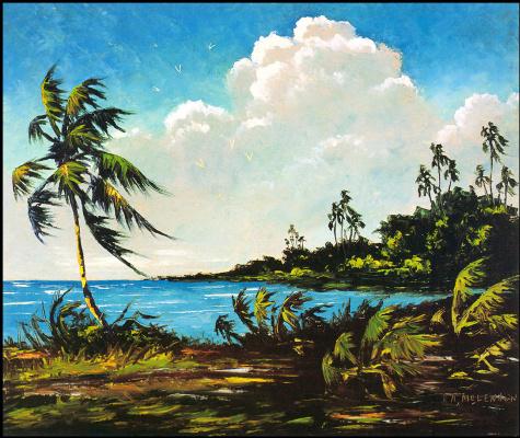 Гарольд Ньютон. Тропический пейзаж 56