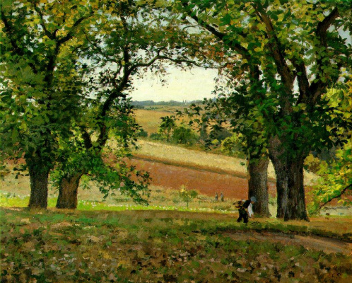 Camille Pissarro. Chestnuts