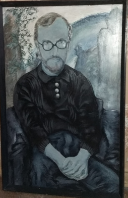 Nikolay Zverev. Man with glasses