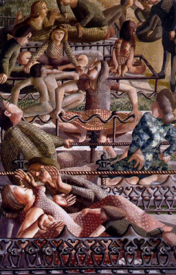 Stanley Spencer. Sociable people