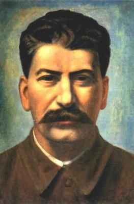 Павел Николаевич Филонов. Портрет И.В. Сталина