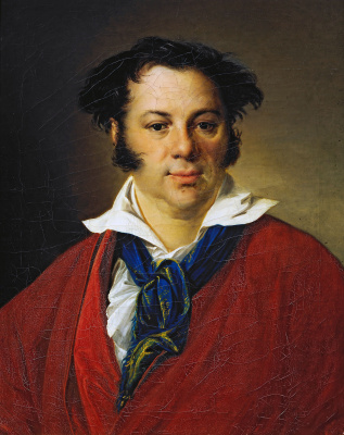 Vasily Andreevich Tropinin. Portrait Of Konstantin Ravich G.