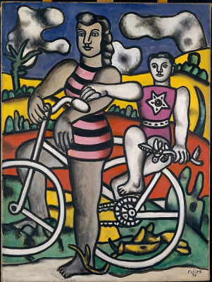 Fernand Leger. Cyclists