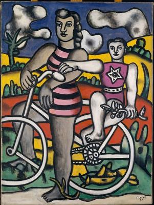 Fernand Leger. Cyclists