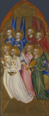 Якопо ди Чоне (и мастерская). Серафим, Херувим и ангелы