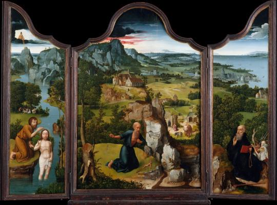 Joachim Patinir. The Penitence of Saint Jerome