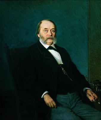 Портрет писателя Ивана Александра Гончарова