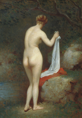 Fedor Petrovich Chumakov. Bather.
