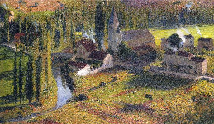 Henri Marten. Village