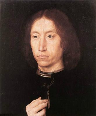Hans Memling. Portrait of a man
