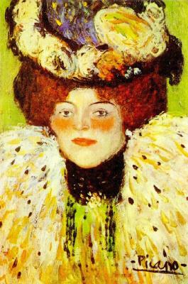 Пабло Пикассо. Женский портрет